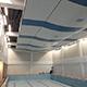 Підвісна стеля в бассейні