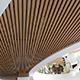 Кубообразный потолок в холле клиники Исида 2