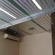 Реечный алюминиевый потолок на веранде