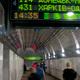Потолки алюминиевые на вокзале
