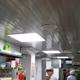 Потолки на кухне ресторана